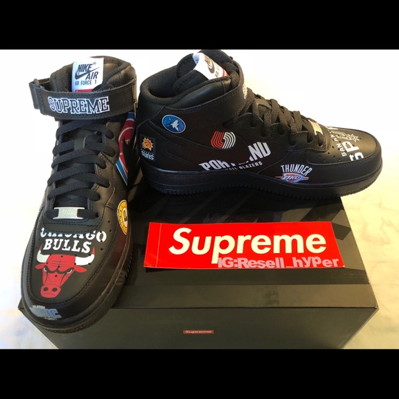 1869c3a9339 Supreme Nike NBA Air Force 1